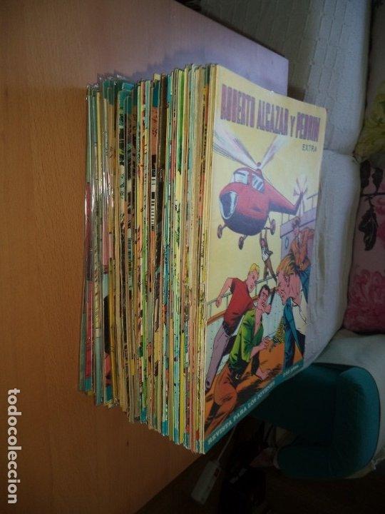Tebeos: Roberto Alcazar y Pedrín Extra Año 1966 Lote de 85 Tebeos Originales Dibujantes Vaño Ambrós Guerrero - Foto 2 - 172069502