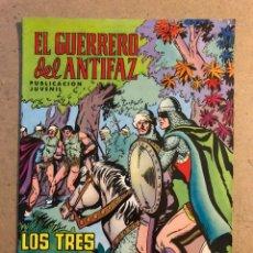 Tebeos: EL GUERRERO DEL ANTIFAZ N° 15 LOS TRES HERMANOS KIR (VALENCIANA 1972).. Lote 172662615