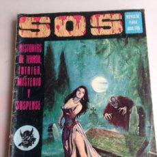 Livros de Banda Desenhada: SOS - 1ª SERIE - Nº 7 - HISTORIA DE TERROR, INTRIGA, MISTERIO Y SUSPENSE. Lote 21045750