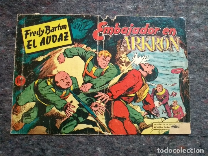 FREDY BARTON EL AUDAZ Nº 10 - EMBAJADOR EN ARKRON D8 (Tebeos y Comics - Valenciana - Otros)