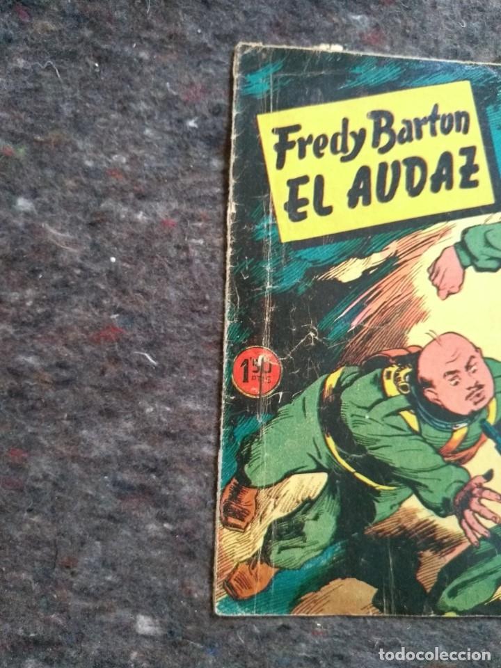 Tebeos: Fredy Barton El Audaz nº 10 - Embajador en Arkron D8 - Foto 2 - 172956522