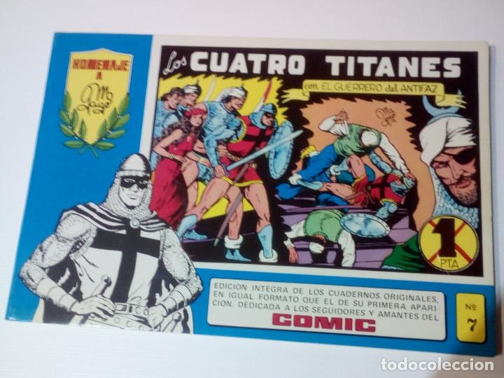EL GUERRERO DEL ANTIFAZ - HOMENAJE A MANUEL GAGO - Nº 7 (Tebeos y Comics - Valenciana - Guerrero del Antifaz)