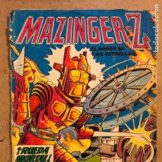 Tebeos: MAZINGER Z, EL ROBOT DE LAS ESTRELLAS N° 1 ¡RUEDA MORTAL!. EDITORIAL VALENCIANA 1978.. Lote 173169719