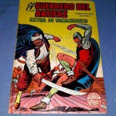 Tebeos: EL GUERRERO DEL ANTIFAZ EXTRA DE VACACIONES CON POSTER EDI. VALENCIANA EN MUY BUEN ESTADO ORIGINAL . Lote 173195098