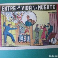 Tebeos: ALBERTO ESPAÑA (1944, VALENCIANA) 6 · 1944 · ENTRE LA VIDA Y LA MUERTE. Lote 173285520