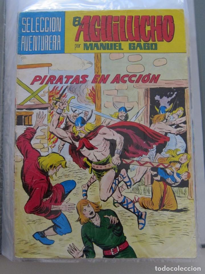 SELECCION AVENTURERA EL AGUILUCHO POR MANUEL GAGO Nº 2 PIRATAS EN ACCION (Tebeos y Comics - Valenciana - Selección Aventurera)