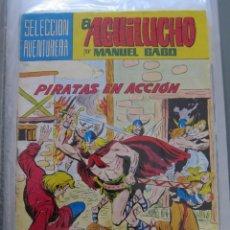 Tebeos: SELECCION AVENTURERA EL AGUILUCHO POR MANUEL GAGO Nº 2 PIRATAS EN ACCION. Lote 173420654