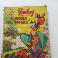 Tebeos: LIBROS ILUSTRADOS PUMBY Nº 40. VALENCIANA 1971 40 PTS. LA BANDA DEL NEGRO CX17. Lote 173436439