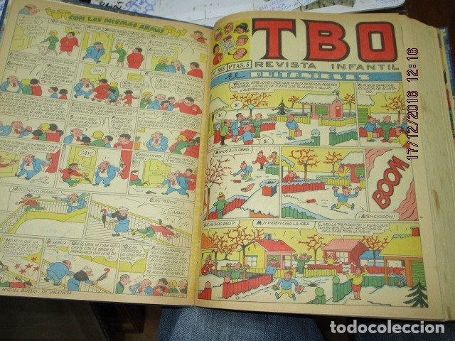 Tebeos: TOMO 25 TEBEOS ANTIGUOS TBO ORIGINALES 1969 MUY BIEN CONSERVADOS EXCELENTES - Foto 8 - 173487679