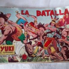 Tebeos: LOTE DE 14 TEBEOS YUKI EL TEMERARIO EDITORIAL VALENCIANA 1958. Lote 173593855