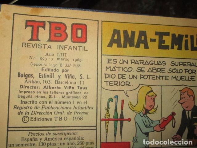 Tebeos: TOMO 25 TEBEOS ANTIGUOS TBO ORIGINALES 1969 MUY BIEN CONSERVADOS EXCELENTES - Foto 13 - 173487679