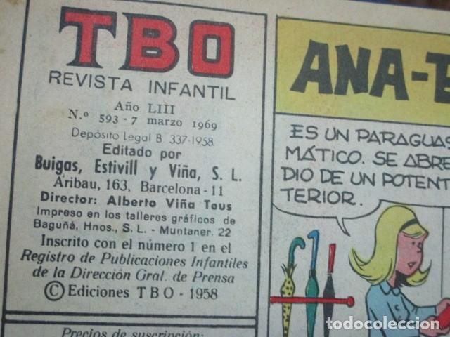 Tebeos: TOMO 25 TEBEOS ANTIGUOS TBO ORIGINALES 1969 MUY BIEN CONSERVADOS EXCELENTES - Foto 14 - 173487679