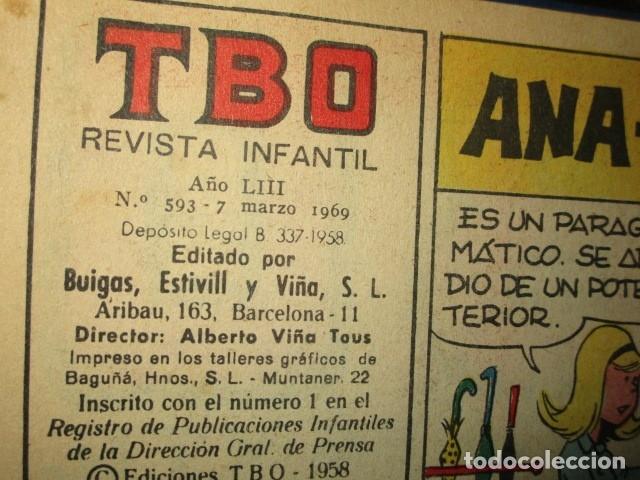 Tebeos: TOMO 25 TEBEOS ANTIGUOS TBO ORIGINALES 1969 MUY BIEN CONSERVADOS EXCELENTES - Foto 11 - 173487679