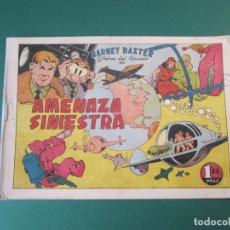 Tebeos: BARNEY BAXTER (1950, VALENCIANA) 1 · 1951 · AMENAZA SINIESTRA. Lote 173656562