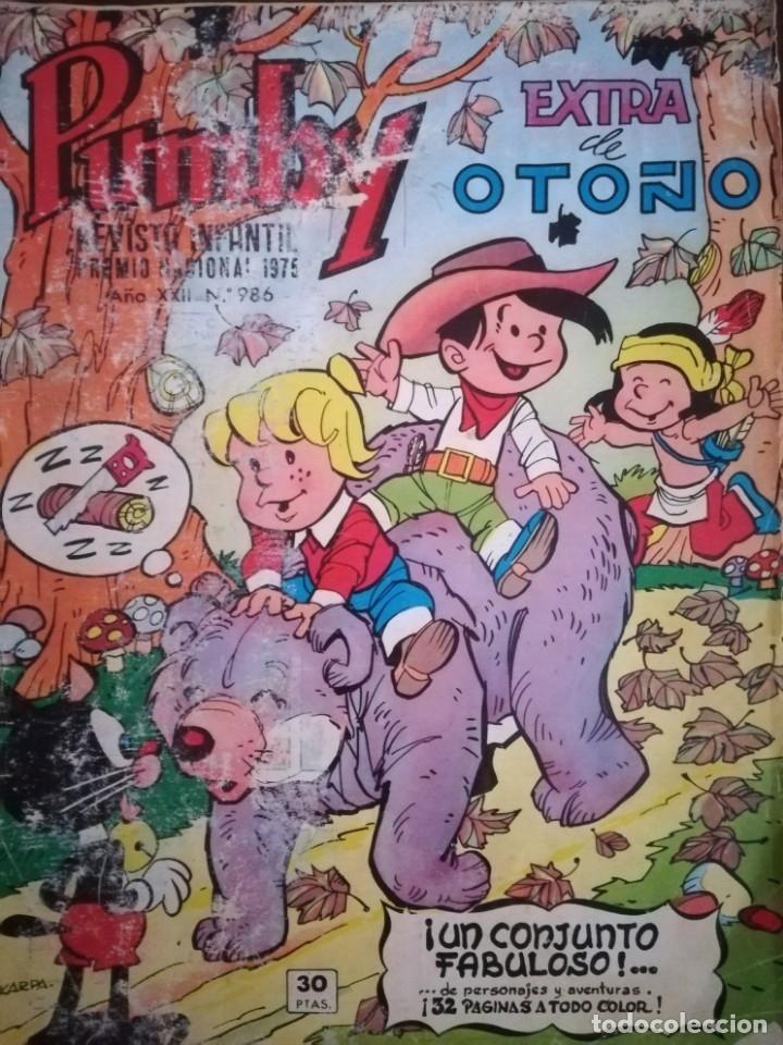 TEBEO PUMBY. REVISTA INFANTIL. AÑO XXII. Nº 986. EXTRA DE OTOÑO (Tebeos y Comics - Valenciana - Pumby)