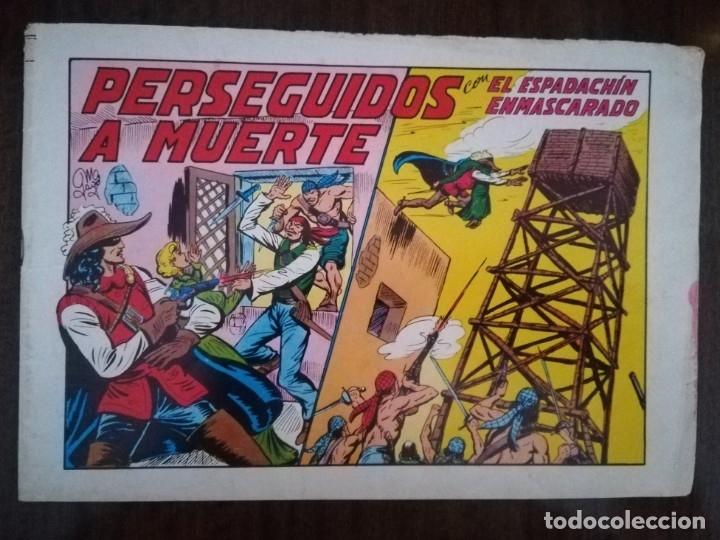 EL ESPADACHÍN ENMASCARADO. Nº 30. PERSEGUIDOSA A MUERTE (Tebeos y Comics - Valenciana - Espadachín Enmascarado)