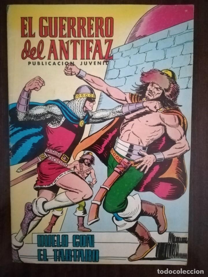 EL GUERRERO DEL ANTIFAZ- DUELO CON EL TÁRTARO. Nº 343. 1978 (Tebeos y Comics - Valenciana - Guerrero del Antifaz)