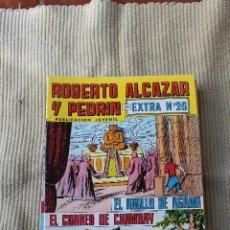 Tebeos: ROBERTO ALCAZAR Y PEDRIN EXTRA 26: EL ANILLO DE AGAMI , EL CORREO DE CHIMBAY. Lote 173876818