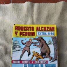 Tebeos: ROBERTO ALCAZAR Y PEDRIN EXTRA 44: ENTRE FIERAS Y BANDIDOS; LA PANTERA DE ARIZONA. Lote 173876828