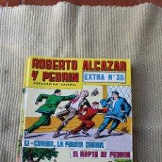 Tebeos: ROBERTO ALCAZAR Y PEDRIN EXTRA 35 LI-CHANG, LA PIRATA CHINA; EL RAPTO DE PEDRIN. Lote 173876853