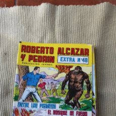 Tebeos: ROBERTO ALCAZAR Y PEDRIN EXTRA 48: ENTRE LOS PIGMEOS; EL BOSQUE DE FUEGO. Lote 173876862