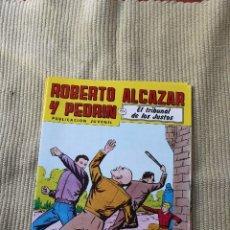 Tebeos: ROBERTO ALCAZAR Y PEDRIN Nº 269: EL TRIBUNAL DE LOS JUSTOS. Lote 173877489