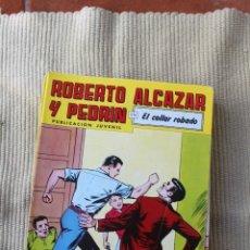 Tebeos: ROBERTO ALCAZAR Y PEDRIN Nº 261: EL COLLAR ROBADO. Lote 173877655