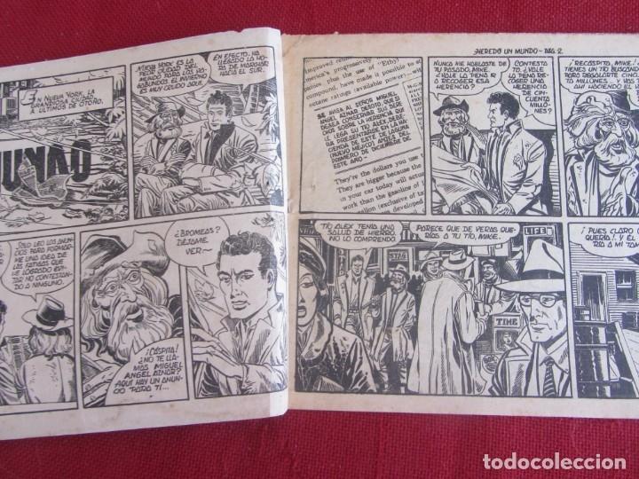 Tebeos: HAZAÑAS DE LA JUVENTUD AUDAZ. Nº 1. HEREDÓ UN MUNDO. VALENCIANA 1959 - Foto 2 - 174029235