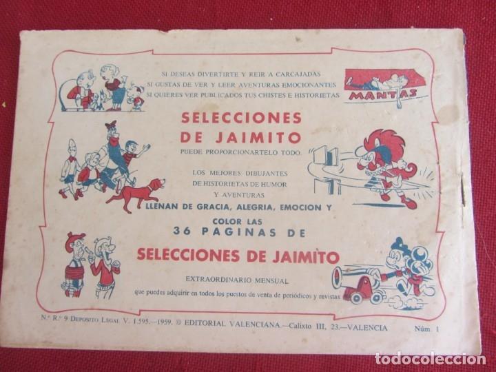 Tebeos: HAZAÑAS DE LA JUVENTUD AUDAZ. Nº 1. HEREDÓ UN MUNDO. VALENCIANA 1959 - Foto 5 - 174029235