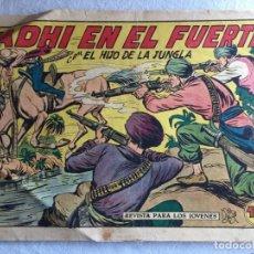 Tebeos: JADHI EN EL FUERTE EL HIJO DE LA JUNGLA. Lote 174034699
