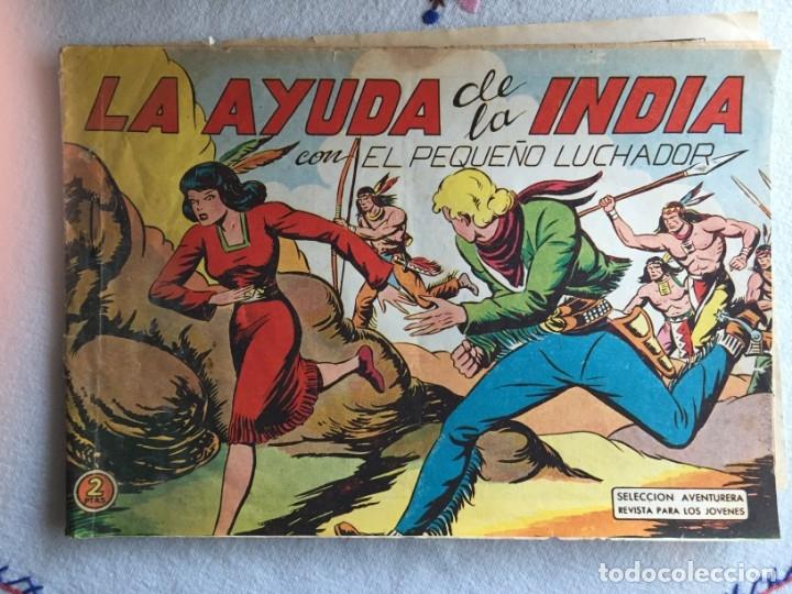 LA AYUDA DE LA INDIA (Tebeos y Comics - Valenciana - Pequeño Luchador)