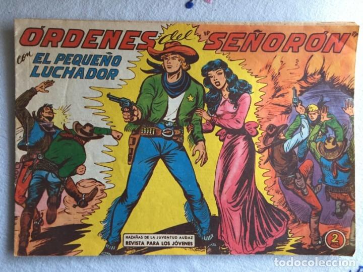 ORDENES DEL SEÑORÓN (Tebeos y Comics - Valenciana - Pequeño Luchador)