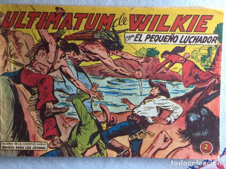 ULTIMATUM DE WILKIE (Tebeos y Comics - Valenciana - Pequeño Luchador)