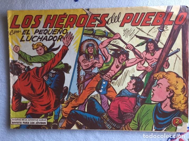 LOS HÉROES DEL PUEBLO (Tebeos y Comics - Valenciana - Pequeño Luchador)