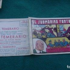 Tebeos: ROBERTO ALCAZAR ORIGINAL EL 64 EL SUBMARINO FANTASMA CJ ROBERTO. Lote 174048108