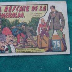 Tebeos: ROBERTO ALCAZAR ORIGINAL EL 61 EL RESCATE DE LA ESMERALDA PRIMERA EDICION CJ ROBERTO. Lote 174048138