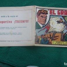 Tebeos: ROBERTO ALCAZAR ORIGINAL EL 58 EL GRAN RATA CJ ROBERTO. Lote 174048145