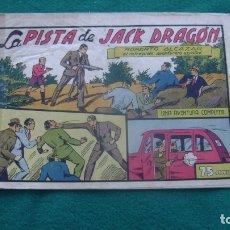 Tebeos: ROBERTO ALCAZAR ORIGINAL EL 56 LA PISTA DE JACK DRAGON PRIMERA EDICION CJ ROBERTO. Lote 174048160