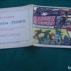 Tebeos: ROBERTO ALCAZAR ORIGINAL EL 52 EL CORREO DE CHIMBAY CJ ROBERTO. Lote 174048199