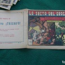 Tebeos: ROBERTO ALCAZAR ORIGINAL EL 44 LA SECTA DEL DRAGON ROJO CJ ROBERTO. Lote 174048272