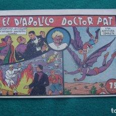 Tebeos: ROBERTO ALCAZAR ORIGINAL EL 40 EL DIABOLICO DOCTOR PAT PRIMERA EDICION CJ ROBERTO. Lote 174048328