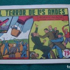 Tebeos: ROBERTO ALCAZAR ORIGINAL EL 39 EL TERROR DE LOS ANDES PRIMERA EDICION CJ ROBERTO. Lote 174048342