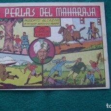 Tebeos: ROBERTO ALCAZAR ORIGINAL EL 36 LAS PERLAS DEL MAHARAJA PRIMERA EDICION CJ ROBERTO. Lote 174048362