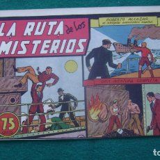 Tebeos: ROBERTO ALCAZAR ORIGINAL EL 35LA RUTA DE LOS MISTERIOS PRIMERA EDICION CJ ROBERTO. Lote 174048367