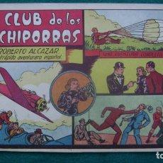 Tebeos: ROBERTO ALCAZAR ORIGINAL EL 34 EL CLUB DE LOS CACHIPORRAS PRIMERA EDICION CJ ROBERTO. Lote 174048394