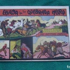 Tebeos: ROBERTO ALCAZAR ORIGINAL EL 31 EL ENIGMA DE LA QUEBRADA NEGRA PRIMERA EDICION CJ ROBERTO. Lote 174048420