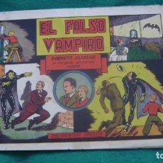Tebeos: ROBERTO ALCAZAR ORIGINAL EL 30 EL FALSO VAMPIRO PRIMERA EDICION CJ ROBERTO. Lote 174048448