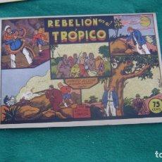 Tebeos: ROBERTO ALCAZAR ORIGINAL EL 25 REBELION EN EL TROPICO PRIMERA EDICION CJ ROBERTO. Lote 174048467