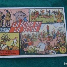 Tebeos: ROBERTO ALCAZAR ORIGINAL EL 19 LA REINA DE LA SELVA PRIMERA EDICION CJ ROBERTO. Lote 174048545
