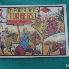 Tebeos: ROBERTO ALCAZAR ORIGINAL EL 18 EN PODER DE LOS TUAREGS PRIMERA EDICION CJ ROBERTO. Lote 174048558